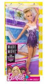 Barbie: Made to Move - Rhythmic Gymnast Doll (Blond) image