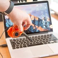 Worlds Smallest Blower - Desk Toy
