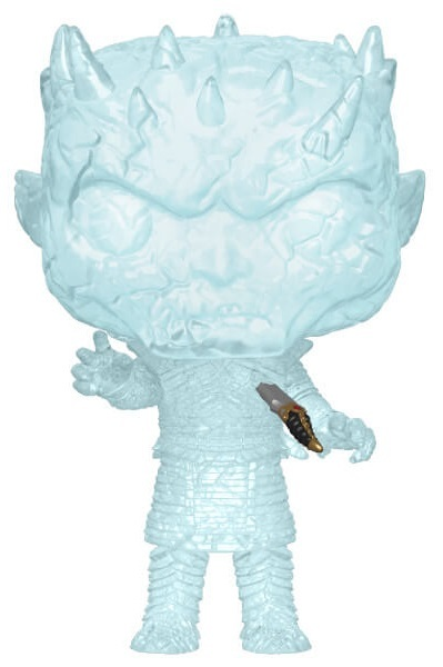 Game of Thrones - Crystal Night King (with Dagger) Pop! Vinyl Figure