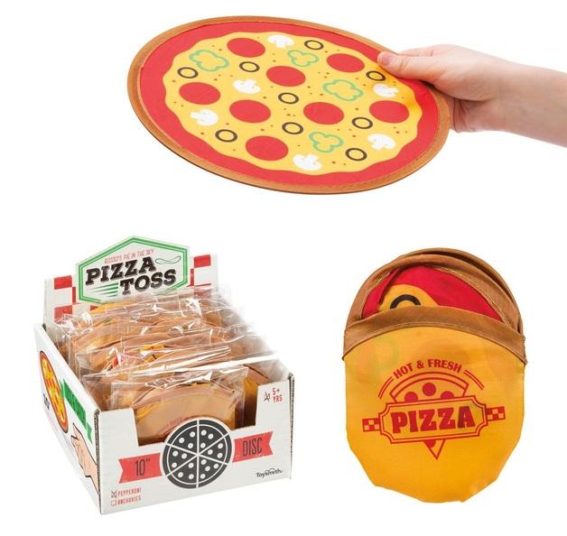 Toysmith: Pizza Toss - Flying Toy