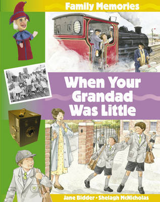 When Your Grandad Was Little by Jane Bidder image