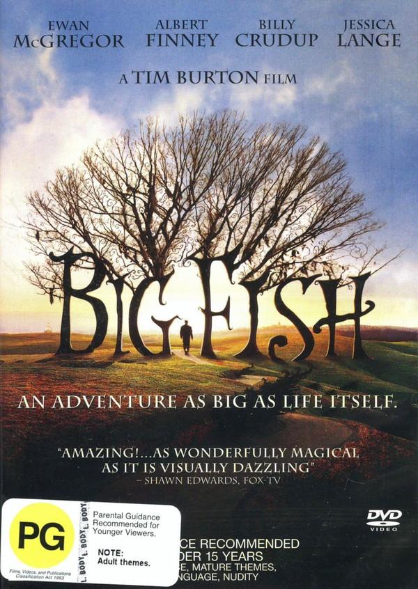 Big Fish on DVD image