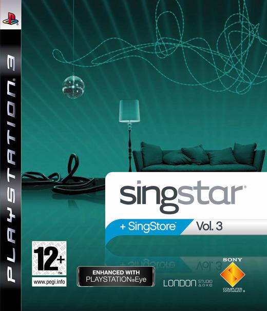 SingStar Vol. 3 (Game Only)