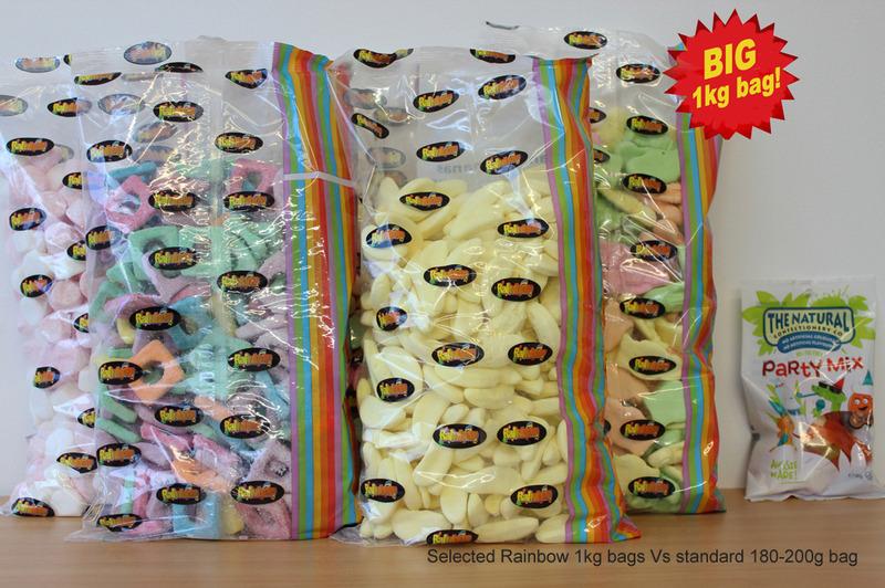 Baby Choc Fish 1kg - Rainbow Confectionery image