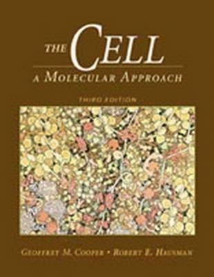 The Cell: A Molecular Approach by Geoffrey M Cooper image