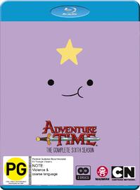 Adventure Time - The Complete Sixth Season on Blu-ray