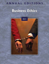Annual Editions: Business Ethics 10/11 by (John) Richardson image