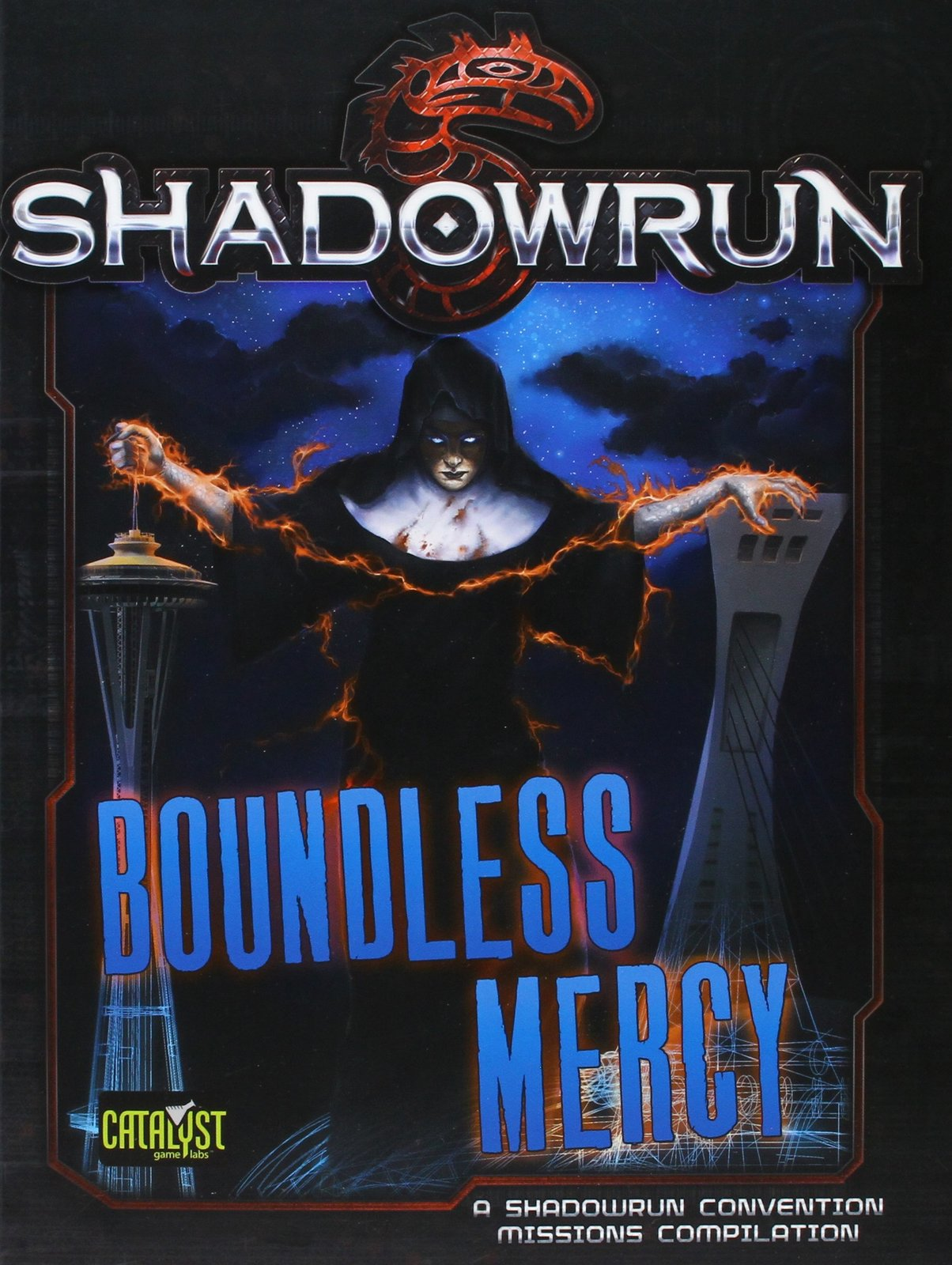 Shadowrun RPG: Boundless Mercy - Mission Compilation image