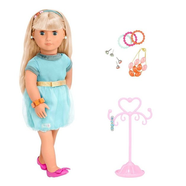 "Our Generation: 18"" Jewellery Doll - Adreena"