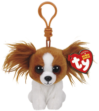 Ty Beanie Babies: Barks Dog - Clip On Plush