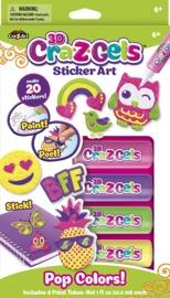 Cra-Z-Gel: Sticker Art Set - Pop Colours