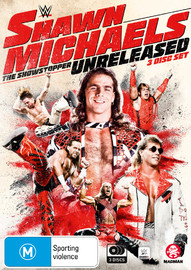 WWE: Shawn Michaels - The Showstopper Unreleased on DVD