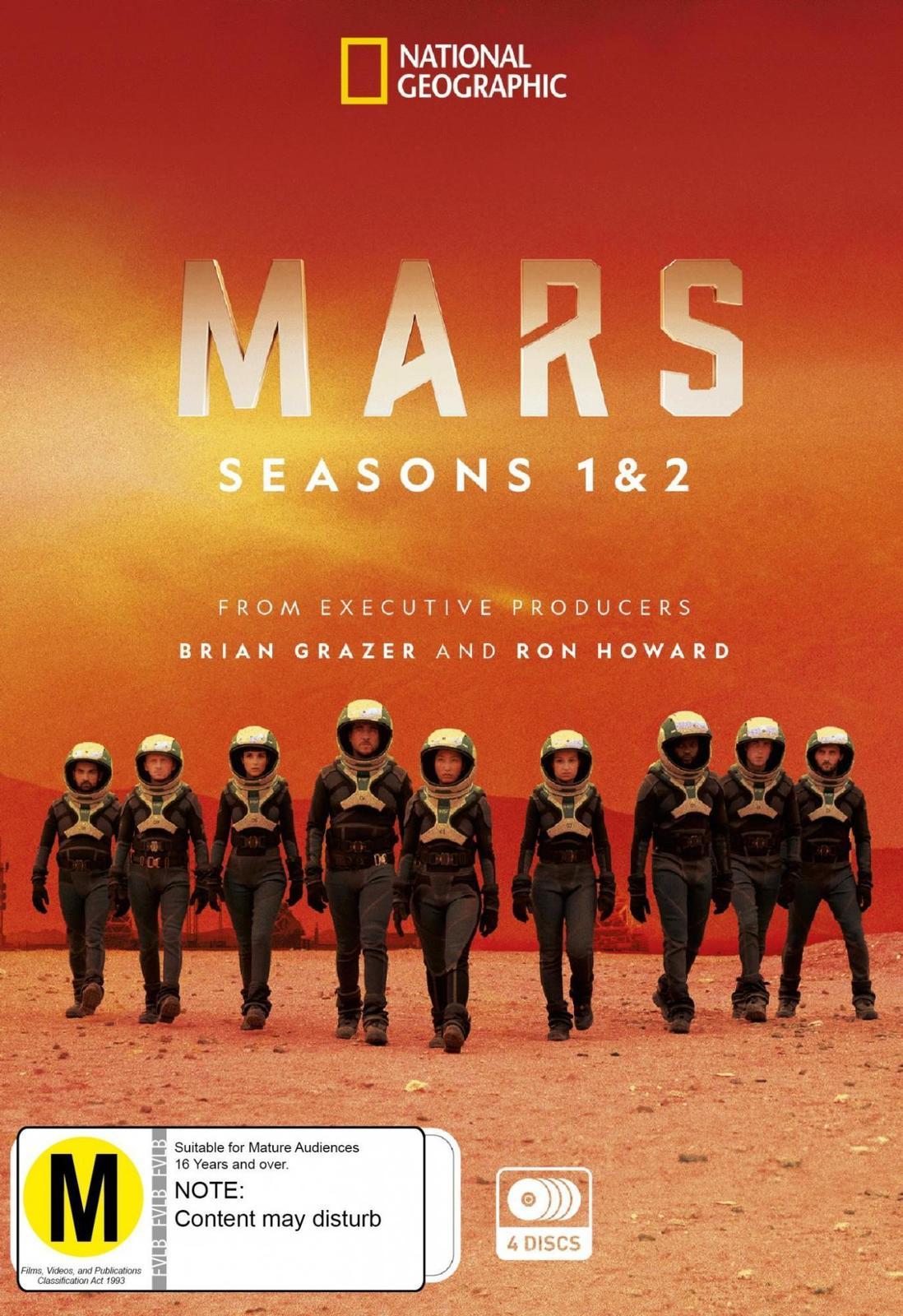 Mars: Seasons 1 & 2 on DVD image