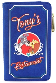 Loungefly: Lady and the Tramp - Tony's Menu Purse