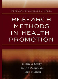 Research Methods in Health Promotion image