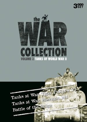 War Collection, The - Vol. 2: Tanks Of World War II (3 Disc Box Set) on DVD