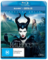 Maleficent on Blu-ray, UV