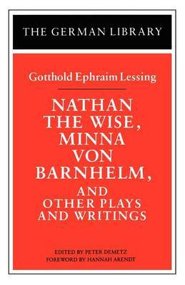 Nathan the Wise by Gotthold Ephraim Lessing