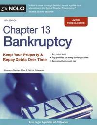 Chapter 13 Bankruptcy by Stephen Elias