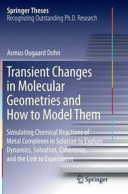 Transient Changes in Molecular Geometries and How to Model Them by Asmus Ougaard Dohn image