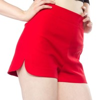 Sourpuss Sweetie Pie Shorts - Red (Small)