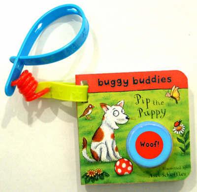 Sound-button Buggy Buddies: Pip the Puppy by Axel Scheffler image
