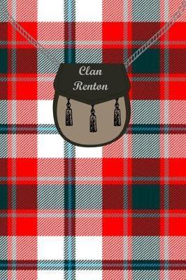 Clan Renton Tartan Journal/Notebook by Clan Renton