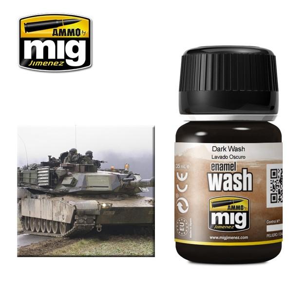 Ammo of Mig Jimenez Dark Wash (35ml)