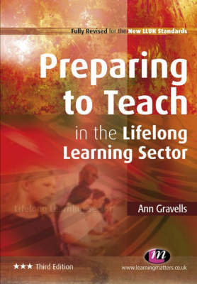 Preparing to Teach in the Lifelong Learning Sector by Ann Gravells image