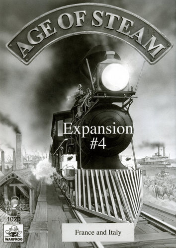 Age of Steam: France & Italy Expansion #4