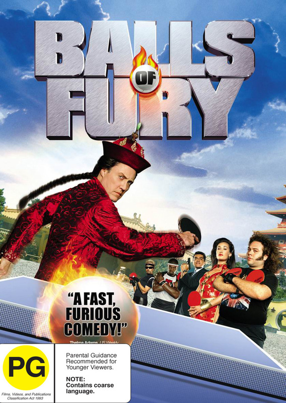 Balls Of Fury on DVD