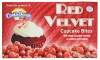 Cookie Dough Red Velvet Cupcake Bites (88g)