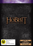 The Hobbit Trilogy - Extended Edition (UV) DVD