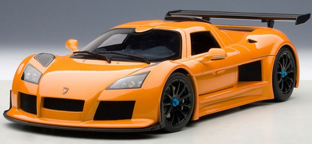 Autoart: 1/18 Gumpert Apollo S (Metallic Orange)