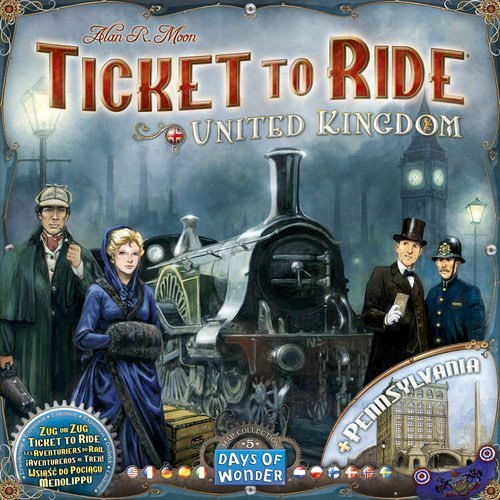 Ticket to Ride: United Kingdom Expansion image