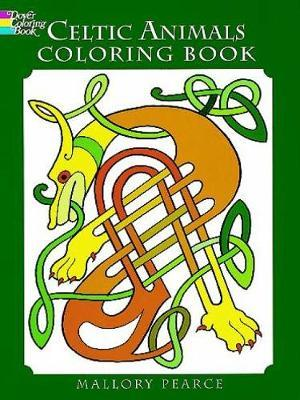 Celtic Animals Colouring Book by Mallory Pearce image