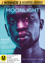 Moonlight on DVD image