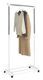Whitmor: Adjustable Garment Rack - White