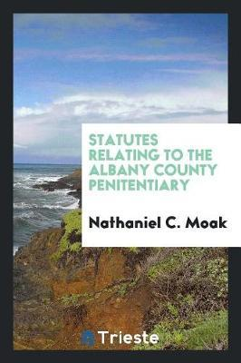 Statutes Relating to the Albany County Penitentiary by Nathaniel C Moak image