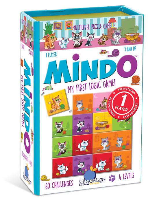 Blue Orange Games: Mindo Kitten - My First Logic Game