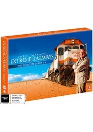 Chris Tarrant's Extreme Railways S1-4 Box Set (limited) on DVD