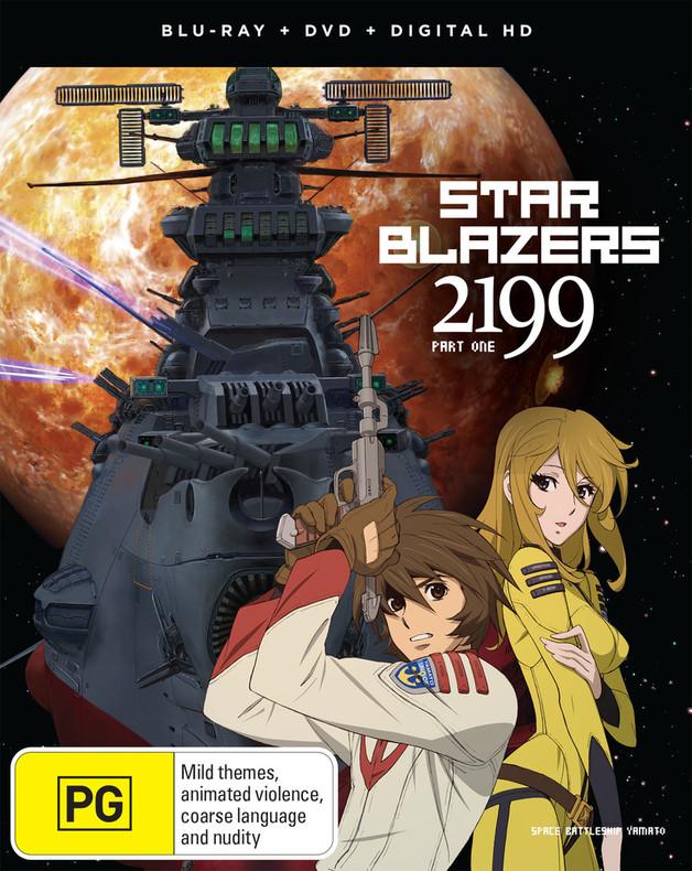 Star Blazers: Space Battleship Yamato 2199 Part 1 (eps 1-13) on DVD, Blu-ray