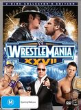 WWE WrestleMania XXVII Collector's Edition (3 Disc Set) DVD