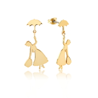 Couture Kingdom: Disney - Mary Poppins Flying Stud Earrings (Yellow Gold)