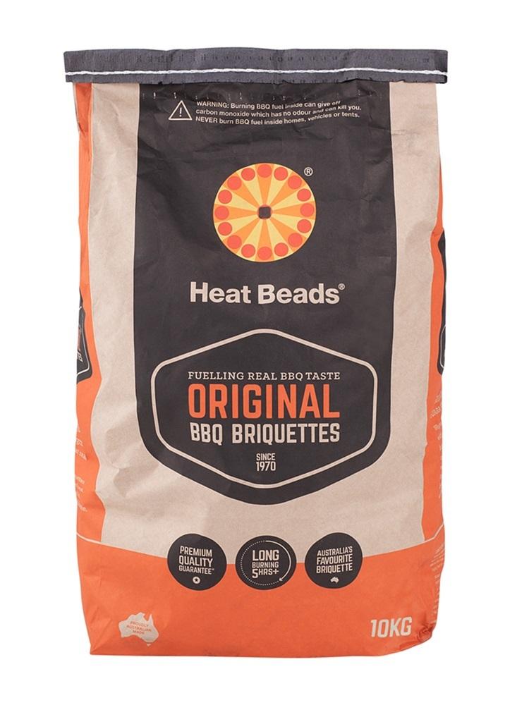 Heat Beads 10kg BBQ Charcoal Briquettes image