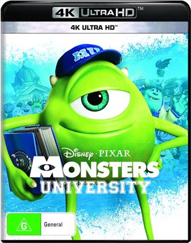 Monsters University on UHD Blu-ray