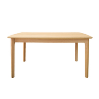Arvid Natural Solid Oak Dining Table