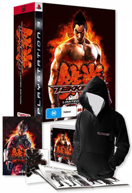 Tekken 6 Collector's Edition (includes Hoodie, Artbook, Poster) for PS3