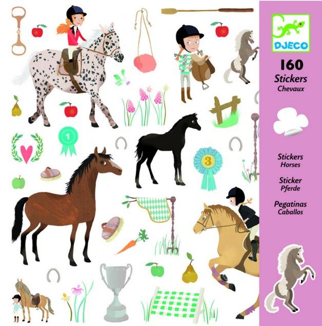Djeco: Design - Horses Stickers