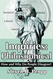 Inquiries by Steven H Propp